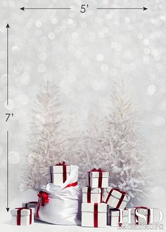 Photography Backdrop - Photo Background | Christmas Presents