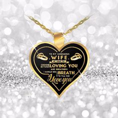 breath heart pendant necklace for wifes best gifts for wifes