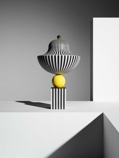 Wedgwoodby Lee Broom, Bowl On Yellow Sphere.Photo byMichael Bodiam.