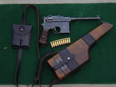 when it comes to DP.. no gun screams it more than this..  the Broomhandle Mauser..  (The Luger is a close 2nd)