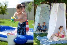 Játék a szabadban – házilag kivitelezhető ötletek gyerekeknek