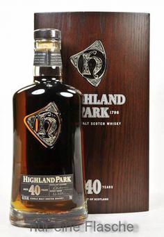Highland Park Whisky 40 y.o.
