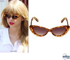 Inspire-se nos óculos de sol retrô da Taylor Swift! ❤