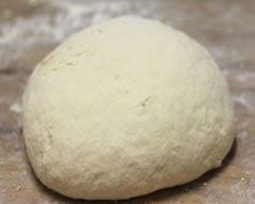 THE most amazing pizza dough ever ~ 1 cup of greek yogurt and 1 cup of Self Rising flour... that's it! This quantity makes a single pizza, but you can increase the ingredients and feed a crowd if you want to. REVIEW: great recipe -