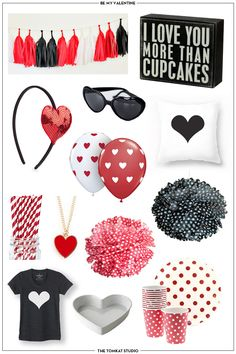 It's February! Time to get ready for Valentine's Day! Here are a few ideas...