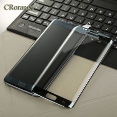 3D Curved Surface Full Screen Cover Coverage Explosion-proof Tempered Glass Film for Samsung Galaxy S7 Edge G9350 S6 Edge Plus