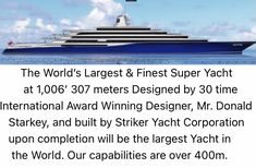 Big Yachts, Super Yachts, Yacht World, Yacht Builders, Private Yacht, Yacht Design, Sport Fishing, Monte Carlo, Rolls Royce