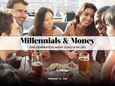 Millennials & Money: One Generation, Many Goals & Values