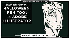 Advanced Adobe Illustrator Halloween Inking Tutorial