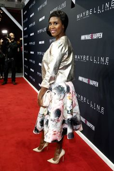 Pin for Later: Die Stars besiedeln Berlin bei der Fashion Week Motsi Mabuse bei der Maybelline New York Make-Up Runway Show