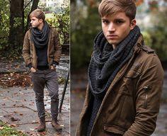 Philippe Girard - Zara Jacket, Omega Watches Watch, Pkz Scarf, H&M Sweater - LET IT RAIN
