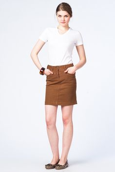 Ginger Denim Skirt by Lee Cooper @trendyol