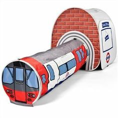 London Underground Tube Station Tent for Kids, Pop Up Play Tent Fun Children's Den House London Underground Tube, London Underground Stations, Tube Train, Pop Up Play, British Gifts, Play Tunnel, Outer Space Theme, London Transport Museum, Kids Pop