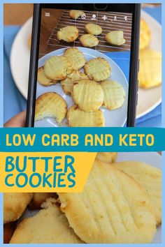 These Butter Cookies are the Perfect Treat Recipe for Keto Diet, low carb diet, or No Diet. 1 carb per cookie and the sweet taste of coconut! Keto Desserts, Keto Snacks, Keto Cheesecake, Keto Fudge, Low Carb Recipes, Diet Recipes, Healthy Recipes, Recipies, Recipes Dinner