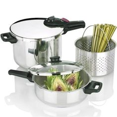 Splendid Multi Pressure Cooker 2x1 Set *** Check out the image by visiting the link.