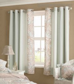 white curtains bedroom short - Google Search | Ideas for the House ...