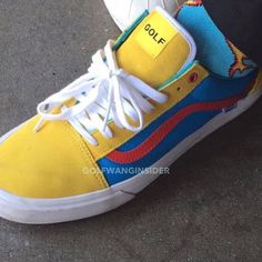 OFFICIAL 2015 GOLF WANG VANS THREAD