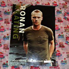 Ronan Keating Official Danilo Calendar by OwlVintageCalendars - SOLD OUT