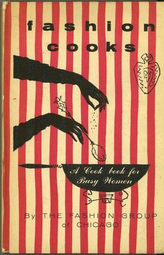 vintage book cover — Fashion Cooks
