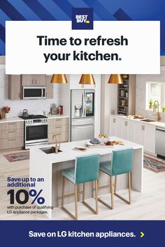 Get a great deal on select LG major appliances during our Memorial Day Sale. Free delivery and safe installation available. Kitchen Dining Sets, Kitchen Redo, Kitchen Remodel, Kitchen Ideas, Grey Kitchen Designs, Sims House Design, A Frame House, Home Gadgets, Diy Furniture Projects