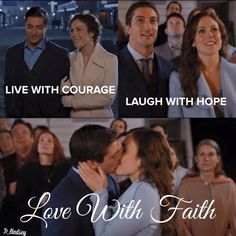 Together with faith, hope, love, courage and God, Jack and Elizabeth will start their new life together; forever!