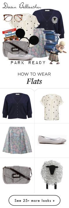 """Dawn Bellwether: Park Ready"" by laniocracy on Polyvore featuring M&Co, Marc by Marc Jacobs, Jupe By Jackie, Disney, Kate Spade, Victoria Beckham, disneyland and plus size clothing"