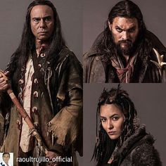 Credit to @raoultrujillo_official : Frontier premieres tomorrow night on Discovery Canada and on Netflix in 2017 @mudboyra @jason.momoa @jessicamatten #Frontier #netflix #discoverycanada # #discoverfrontier #frontier @frontierfans
