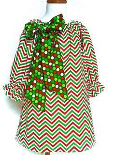 Toddler Christmas Dress Girls Christmas Dress by 8thDayStudio