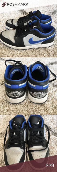 Nike Air Jordan Low-tops Men Size 10 Super cool shoes but I have run out of room in my closet! Nike Shoes Sneakers