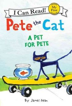 ER DEA. Garnering attention after painting a picture of his new pet goldfish, Pete the cat receives so many requests to make paintings for his neighbors that he devises an uproarious solution.