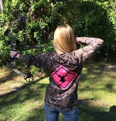 Women's Deer Crossing Series Camo Performance Long Sleeve Shirt from Country Shore   http://countryshoreoutfitters.com/products/womens-deer-crossing-series-camo-performance-long-sleeve-shirt