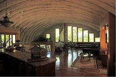 Inside+Quonset+Hut+Homes | metal-building-interior.png (640×430)