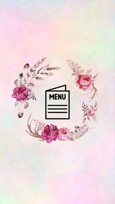 Pink Wallpaper, Iphone Wallpaper, Instagram Feed, Instagram Story, Insta Icon, Initials Logo, Pastel Flowers, Instagram Highlight Icons, Art Logo
