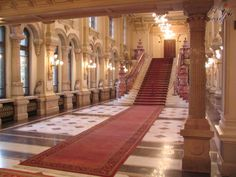 Visit the post for more. Bulgaria, Marble House, Bucharest Romania, Beautiful Places, Stairs, Around The Worlds, Museum, Architecture, Building