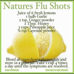 """// Natural Flu Shot   It knocks me off my rocker when someone says, """"I'm getting my flu shot or taking the children for a flu shot""""  Protect against!"""