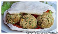 Falafels au four (on oubliera la petite sauce au yaourt pendant la cure)