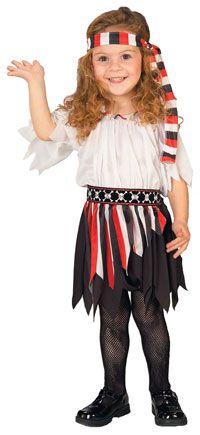 Toddler Li'l Pirate Girl Costume