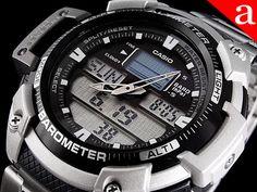 Zegarek męski CASIO - MILAN + barometr + termometr