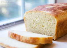 Potato bread is so full of flavor! Best bread EVER for making toast. On SimplyRecipes.com