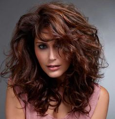 Auburn hair colors with chestnut highlights - Gorgeous