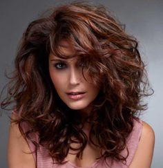 mahogany hair with highlights - Google Search