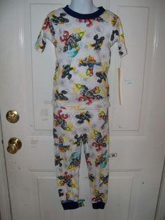 Skylanders Swamp Force 2pc Pajamas Size 6 Boy's NEW #Activision #PajamaSets