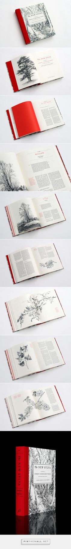 Book Design Inspiration: The New Sylva - Celebrating the UK\'s Forests and Trees - created via http://pinthemall.net