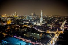 My city, Brussels. Europe, Slice Of Life, Winter Wonder, Brussels, Small Towns, Paris Skyline, Tourism, Night, City