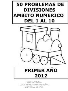 50 problemas de division ambito numerico hasta el 10 by manueloyarzun via slideshare