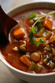 NYT Cooking: Fragrant Chicken Soup with Chickpeas and Vegetables