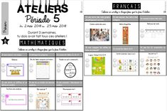 CE1/CE2 • Ateliers • Ateliers mathématiques et français ~