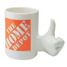 It's yes to marketing success with this charming, thumbs up design mug!