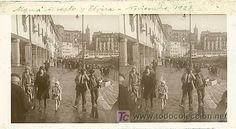 SAN SEBASTIAN - EL PUERTO - AÑO 1928 - CRISTAL POSITIVO (TAMAÑO GRANDE) (Fotografía Antigua - Estereoscópicas)