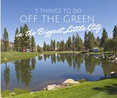 Heading to Reno for the Barracuda Championship (formerly known as the Reno Tahoe Open)? Here's 5 things to do off the green in the Biggest Little City. #TravelNevada #RenoTahoe #PGATOUR